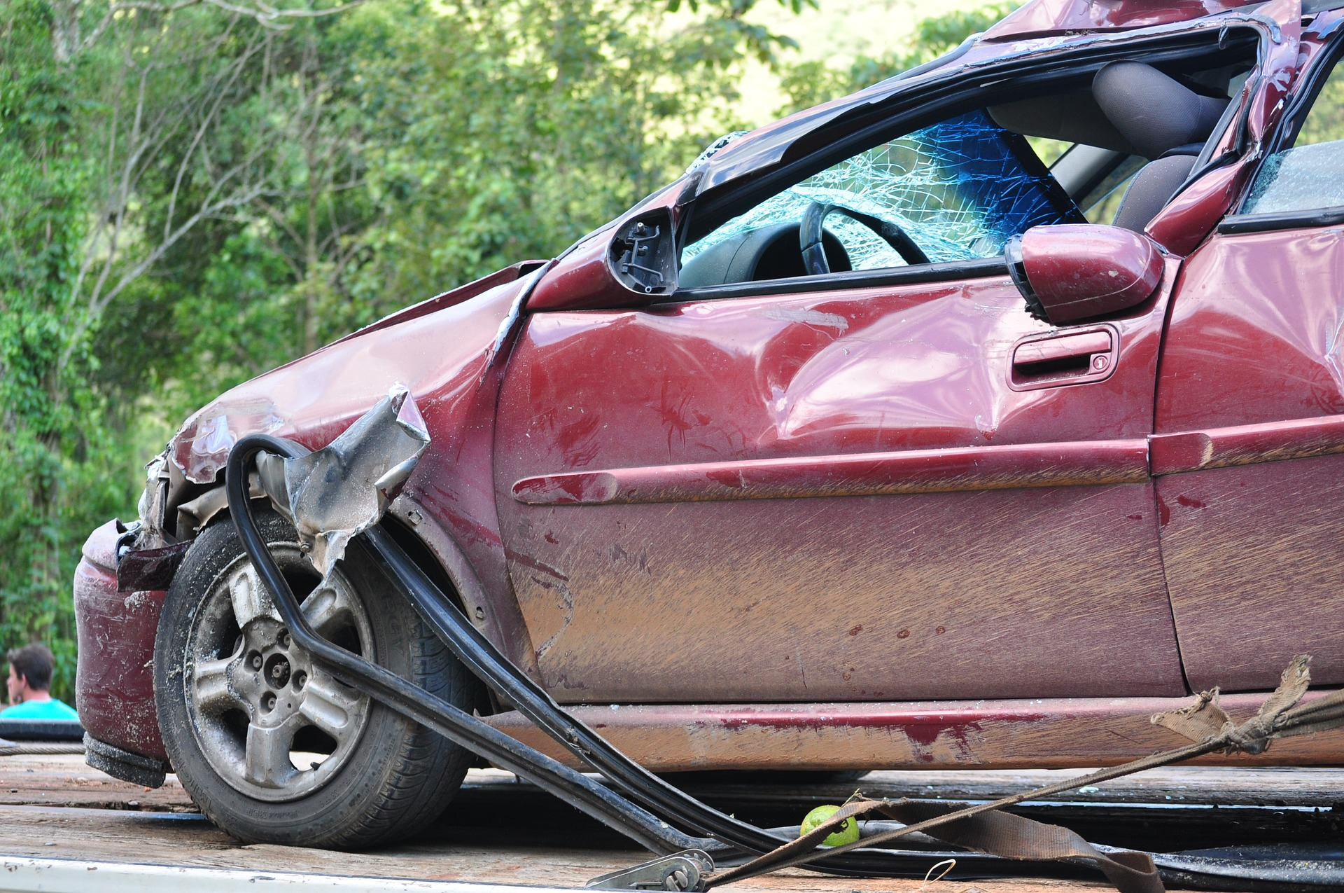 car accident back pain
